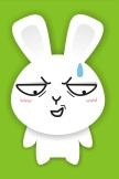 Cartoon-Kaninchen