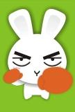 漫画のウサギ