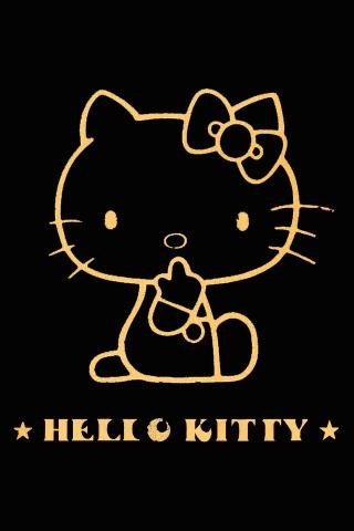 Hallo Kitty iPhone Wallpaper