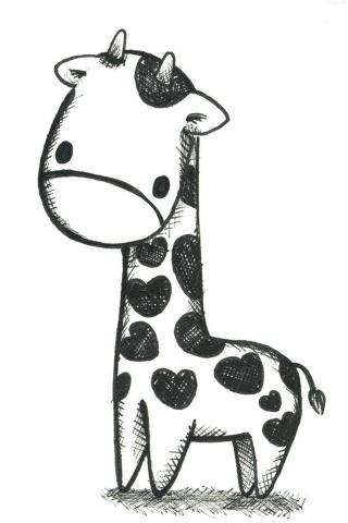 Giraffe iPhone Wallpaper