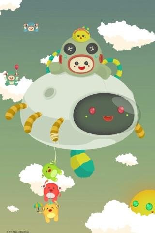 Rahirose im Himmel iPhone Wallpaper