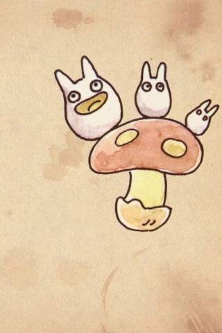 となりのトトロの小トトロ