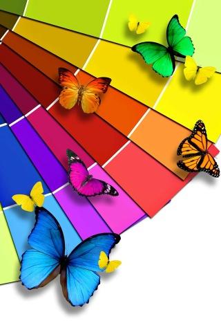蝶 iPhoneの壁紙