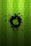 感嘆符の緑のロゴ