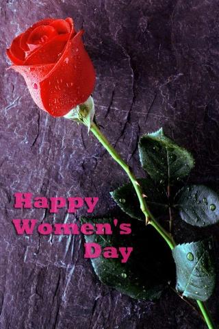 幸せな女性の日 iPhoneの壁紙