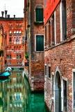 Venezianische Straßen