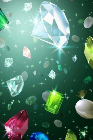 ダイヤモンド iPhoneの壁紙