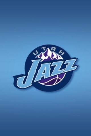 Utah Jazz iPhone Wallpaper