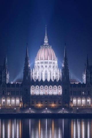 Budapest-Stadtansicht iPhone Wallpaper