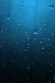 Blaue minimalistische Drops