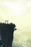 Japanische Landschaft Malerei