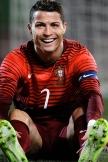 Ronaldo CR7 笑顔