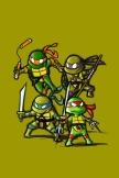 Kleine Ninja Turtles
