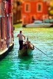Venedig Wasser Stadt Architektur Flussboot