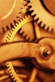 Technology Mechanic Retro Golden Gear