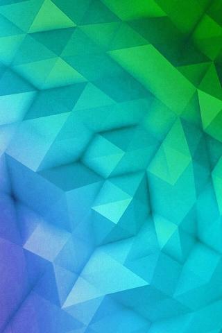 抽象的な三角形の形成 iPhoneの壁紙