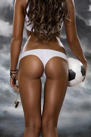 完璧なサッカー選手 iPhoneの壁紙
