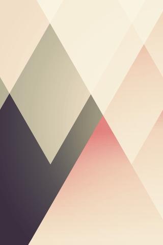格子縞のパターン iPhoneの壁紙