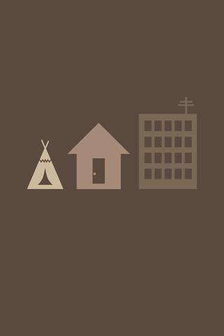 Housing Minimal iPhone Wallpaper