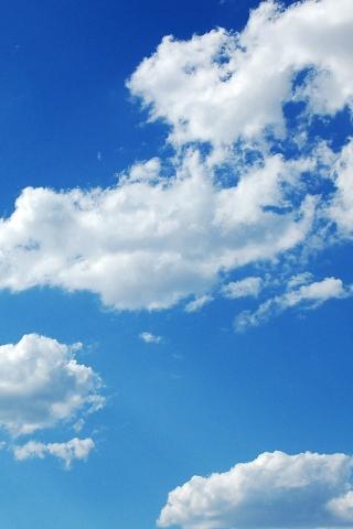nur wolken iPhone Wallpaper