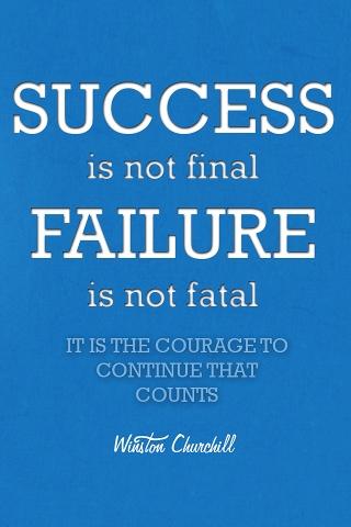 成功の刺激的な引用 iPhoneの壁紙