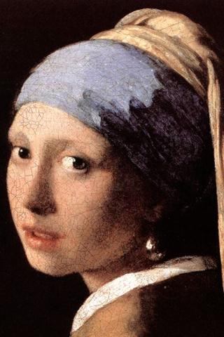 真珠の耳飾りの少女 iPhoneの壁紙